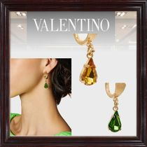 VALENTINO Casual Style Party Style Office Style Elegant Style Earrings