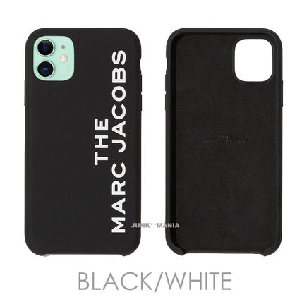 MARC JACOBS Unisex Silicon Logo iPhone 11 Pro iPhone 11 Pro Max