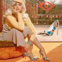 Katy Perry Tie-dye Pin Heels Party Style Bridal