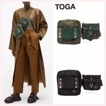 TOGA Casual Style Nylon Studded Street Style Collaboration 2WAY