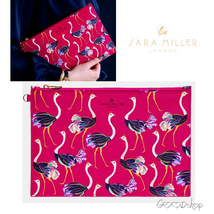 Other Animal Patterns Pouches & Cosmetic Bags