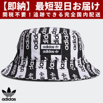adidas Unisex Street Style Bucket Hats Wide-brimmed Hats