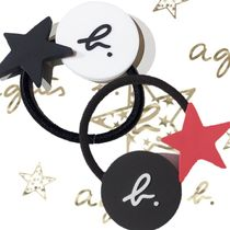 Agnes b Bangles Star Blended Fabrics Hair Accessories