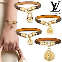 Louis Vuitton Bangles Costume Jewelry Unisex Leather Bracelets