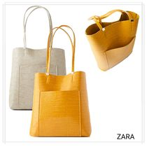 ZARA Bag in Bag Chain Other Animal Patterns Totes