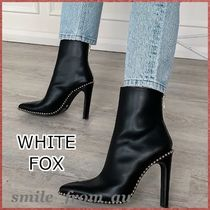 WHITE FOX Casual Style Studded Boots Boots