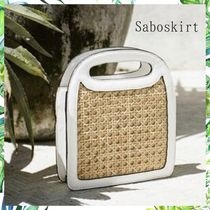 SABO SKIRT 2WAY Crossbody Straw Bags