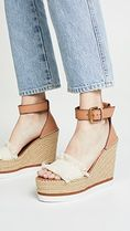 See by Chloe Open Toe Platform Casual Style Street Style Plain