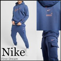 Nike Blended Fabrics Street Style Co-ord Sweats Two-Piece Sets