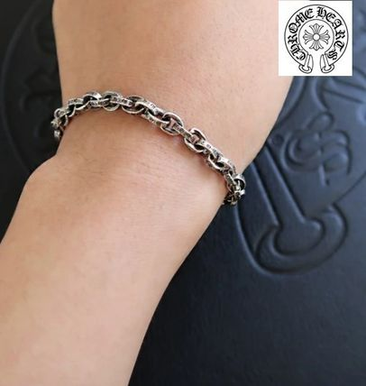 Unisex Chain Plain Leather Chain Bracelets Bracelets