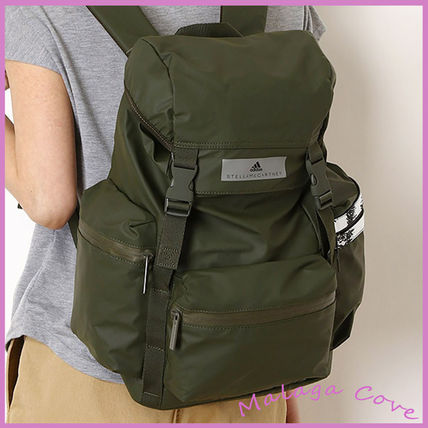 Casual Style A4 Logo Backpacks