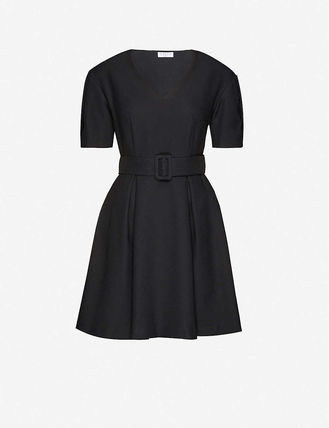 Casual Style Short Sleeves Dresses