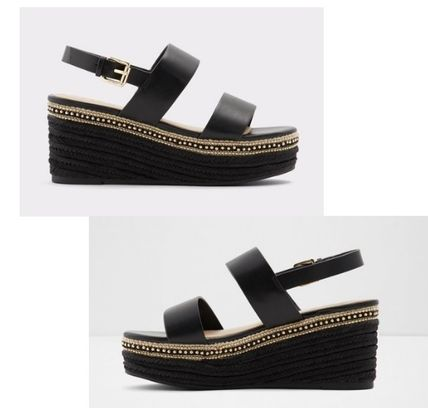 Open Toe Platform Casual Style Sandals