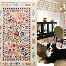 Anthropologie Flower Patterns Morroccan Style Carpets & Rugs
