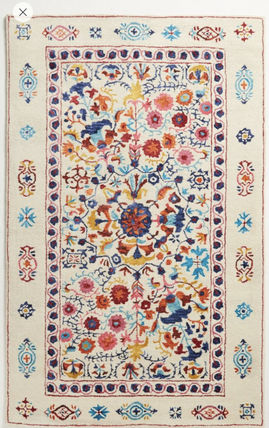 Flower Patterns Morroccan Style Carpets & Rugs