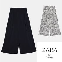 ZARA Casual Style Plain Other Animal Patterns Medium
