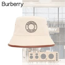 Burberry Unisex Street Style Straw Hats