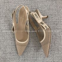 Christian Dior JADIOR Pin Heels Pointed Toe Pumps & Mules