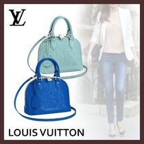 Louis Vuitton ALMA Casual Style 2WAY 3WAY Plain Leather Party Style