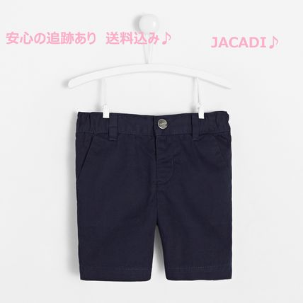 Toddler boy slack shorts NAVY BLUE jacadi