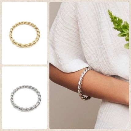 Bangles Casual Style Party Style Brass 14K Gold
