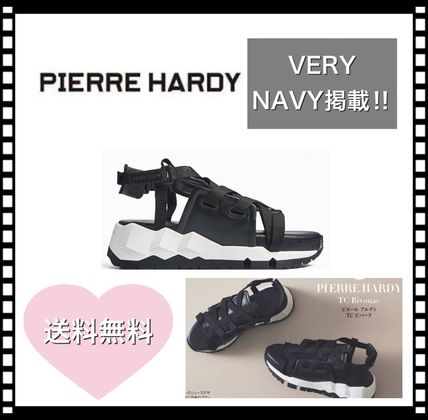 Platform Casual Style Blended Fabrics Sport Sandals