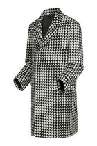 Louis Vuitton Africa Houndstooth Car Coat