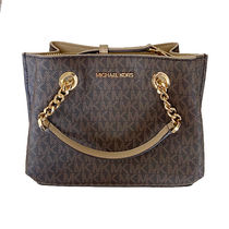 Michael Kors Monogram Casual Style 2WAY PVC Clothing Office Style