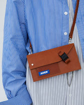 ADERERROR Casual Style Street Style Leather Crossbody Shoulder Bags