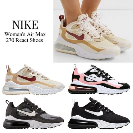 Nike AIR MAX 270 Lace-up Casual Style