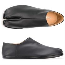 Maison Margiela Tabi Plain Leather Shoes