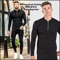 Bee Inspired Clothing Street Style Long Sleeves Cotton Polos