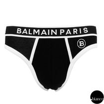 BALMAIN Street Style Collaboration Cotton Logo Briefs