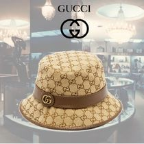 GUCCI Street Style Wide-brimmed Hats