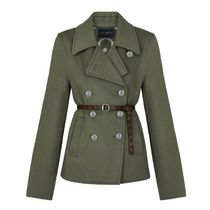 Louis Vuitton Belted Peacoat