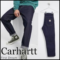 Carhartt Tapered Pants Street Style Plain Cotton Jeans