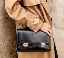 Bons baisers de Paname Casual Style Street Style 2WAY Plain Leather Office Style