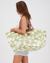 Billabong Flower Patterns Tropical Patterns Casual Style A4 Totes