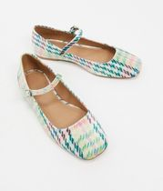 ASOS Other Plaid Patterns Ballet Shoes