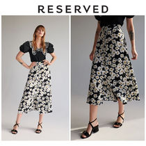 RESERVED Flower Patterns Skirts