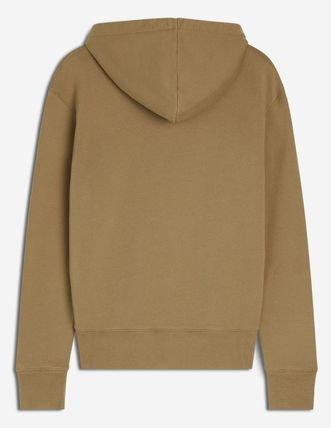 Unisex Long Sleeves Plain Oversized Designers Hoodies