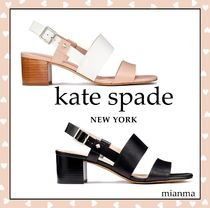 kate spade new york Casual Style Studded Block Heels Party Style Office Style