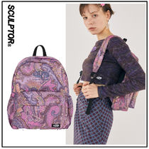 SCULPTOR Paisley Casual Style Backpacks