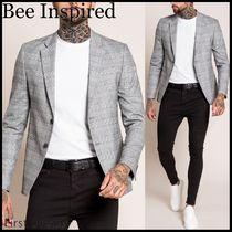 Bee Inspired Clothing Other Plaid Patterns Front Button Blazers Jackets