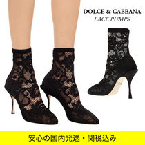 Dolce & Gabbana Casual Style Pin Heels Party Style Elegant Style Bridal