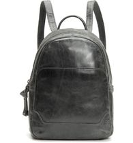 FRYE Casual Style Calfskin Street Style Plain Leather Backpacks