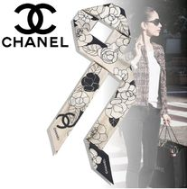 CHANEL Casual Style Flower Street Style Elegant Style