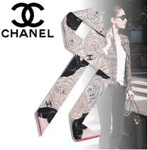 CHANEL Casual Style Flower Party Style Elegant Style