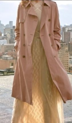 Stand Collar Coats Street Style Long Parkas