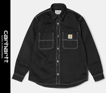 Carhartt Street Style Long Sleeves Logo Shirts